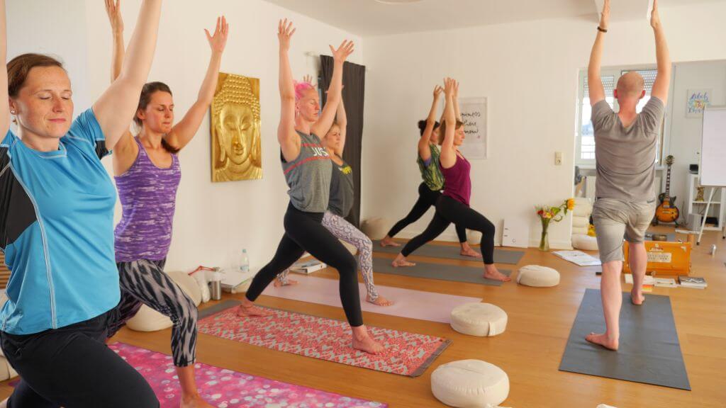 Eindrücke von der Yogalehrerausbildung 2017 Unity Yoga Köln - Yoga Akademie